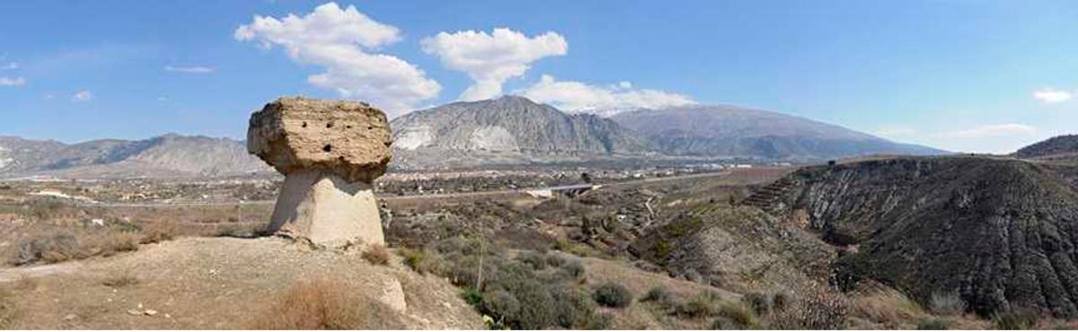 Peñón del Moro. Dúrcal Valle de Lecrín Granada