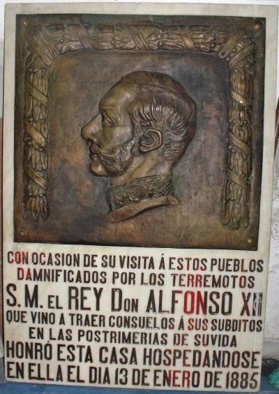VISITA DEL REY ALFONSO XII DÚRCAL GRANADA TURISMO DÚRCAL VALLE DE LECRÍN