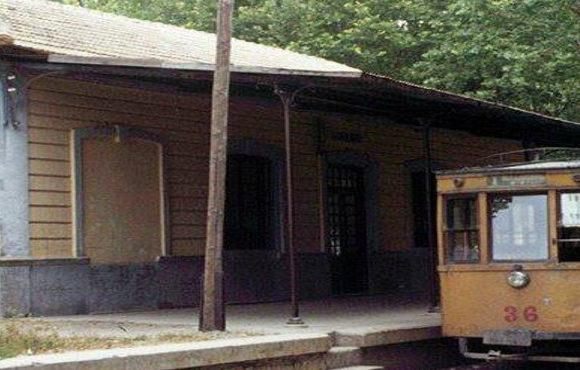 Tranvias-electricos-de-Granada-coche-36-en-Durcal