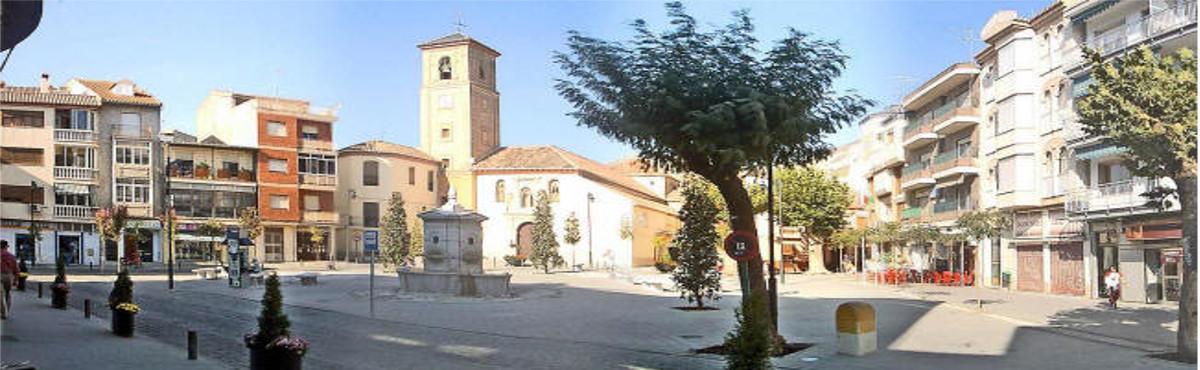 Plaza de Dúrcal Valle de Lecrín Granada